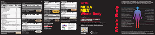 GNC Mega Men® Whole Body Vitapak® Program