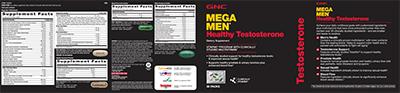 GNC Mega Men® Healthy Testosterone