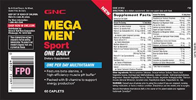 GNC Mega Men® Sport One Daily