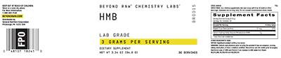 Beyond Raw® Chemistry Labs™ HMB