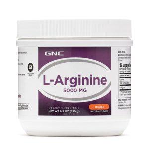 GNC L-Arginine 5000mg - Orange