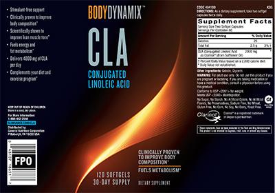 BodyDynamix™ CLA Conjugated Linoleic Acid