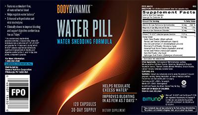 BodyDynamix™ Water Pill