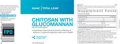 GNC Total Lean™ Chitosan with Glucomannan