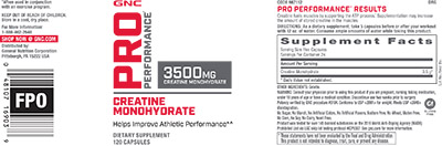 GNC Pro Performance® Creatine Monohydrate