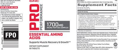 GNC Pro Performance® Essential Amino Acids