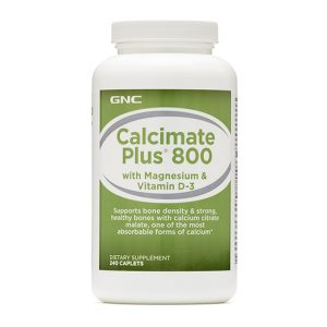 GNC Calcimate Plus® 800 with Magnesium & Vitamin D-3-717632_1