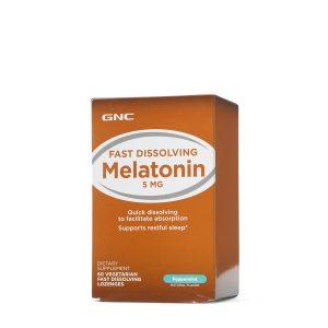 GNC Melatonin 5 MG - Peppermint