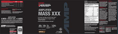 GNC Pro Performance® AMP Amplified Mass x-x-x