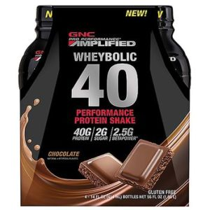 GNC Pro Performance® AMP Amplified Wheybolic 40