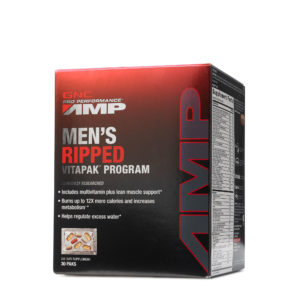 GNC Pro Performance® AMP Men's Ripped Vitapak® Program