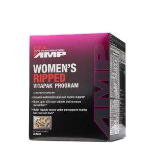 GNC Pro Performance® AMP Women's Ripped Vitapak® Program - 205112