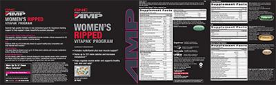 GNC Pro Performance® AMP Women's Ripped Vitapak® Program