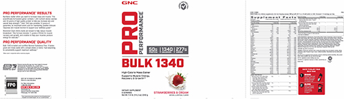 GNC Pro Performance® Bulk 1340