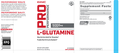 GNC-Pro-Performance®-L-Glutamine-Unflavored