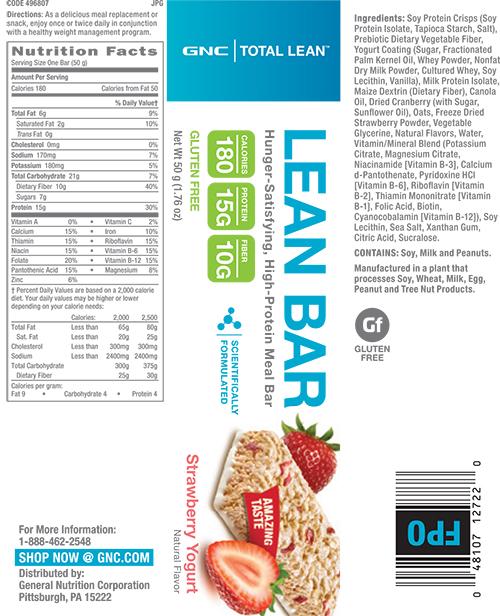 GNC Total Lean™ Lean Bar