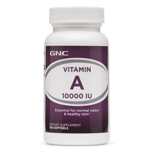 GNC Vitamin A 10000 IU-004212_1