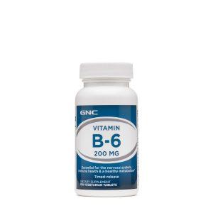 GNC Vitamin B-6 200 MG