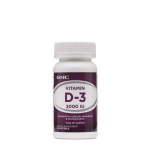 -GNC Vitamin D-3 2000 IU-145422