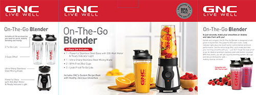 On-The-Go Blender
